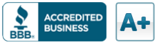 Logo for the Better Business Bureau Review